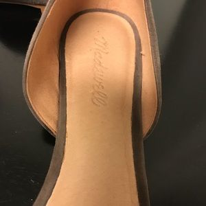 Madewell taupe d'Orsay flats